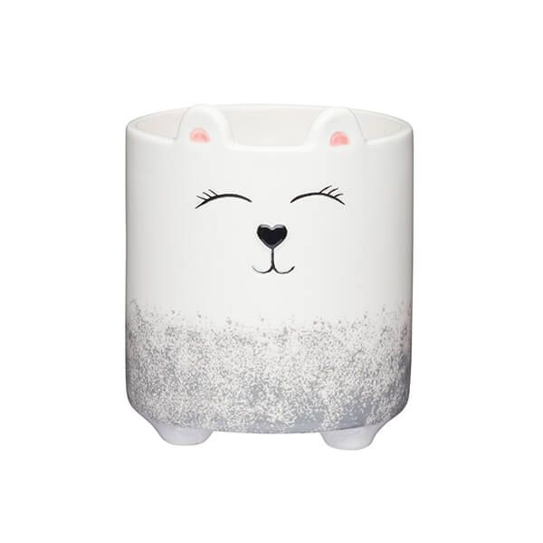 KitchenCraft 11cm Little Bear Face Planter
