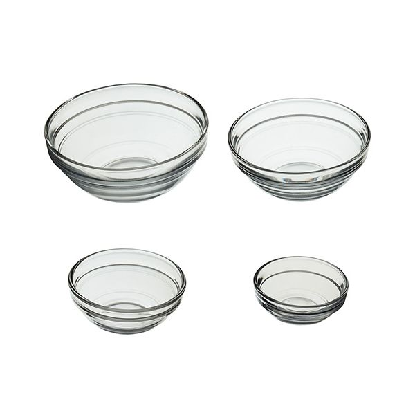 KitchenCraft Set Of 4 Condiments and Preparation Bowls