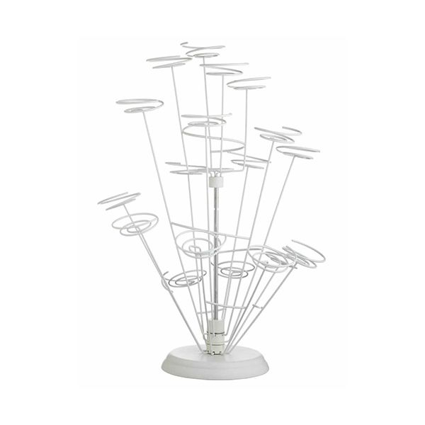 Sweetly Does It Spiral Wire Cupcake Tree For Fifteen Cakes