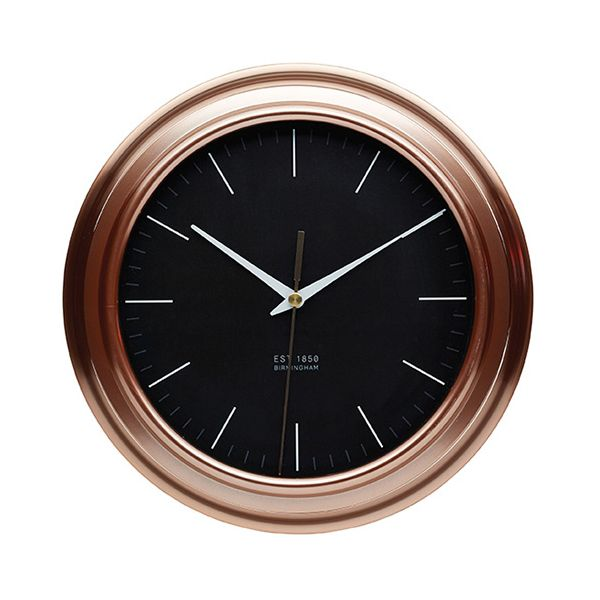 KitchenCraft Copper Kitchen Wall Clock