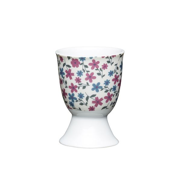 KitchenCraft Floral Daisy Porcelain Egg Cup