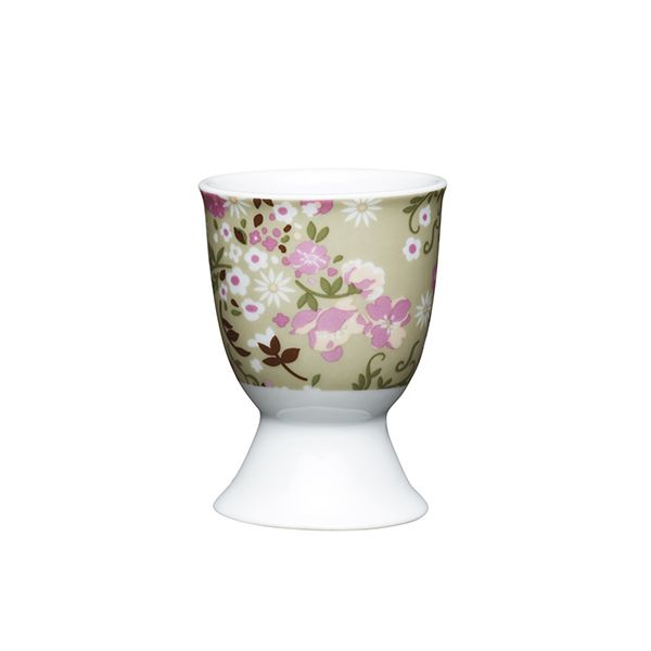 KitchenCraft Floral Meadow Porcelain Egg Cup