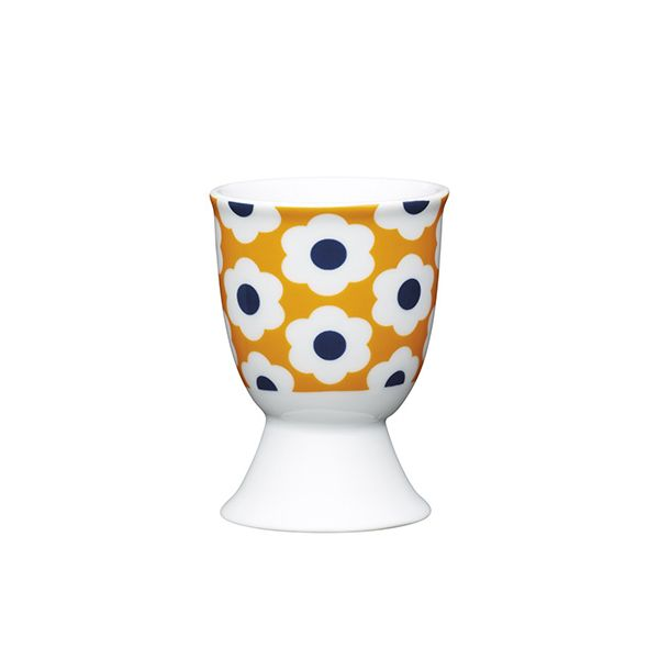 KitchenCraft Retro Egg Porcelain Egg Cup