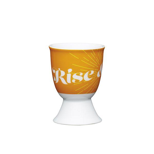 KitchenCraft Retro Rise Porcelain Egg Cup