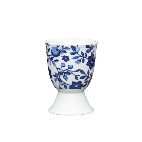 KitchenCraft Traditional Floral Porcelain Egg Cup