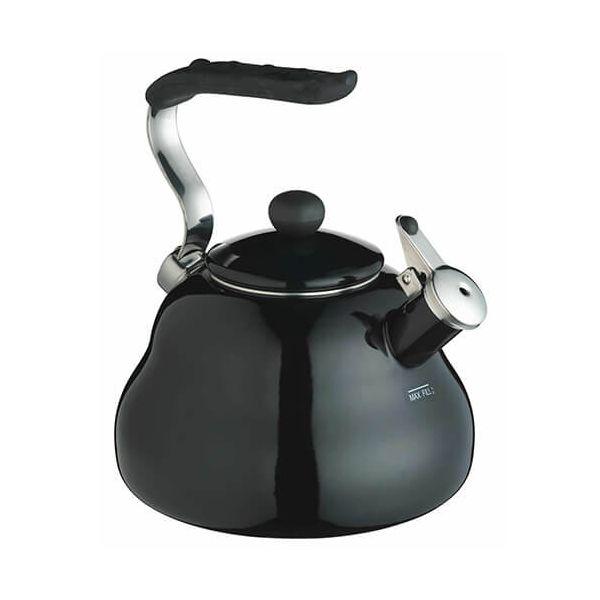 Le-Xpress 2 Litre Black Whistling Kettle