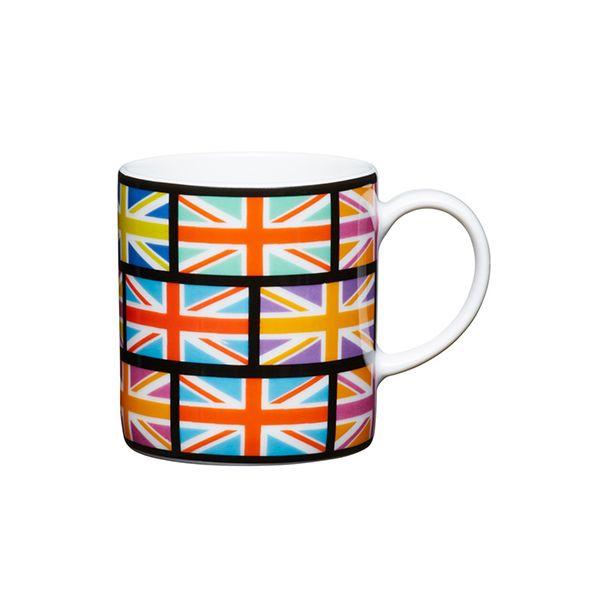 Kitchen Craft Union Flag Porcelain Espresso Cup
