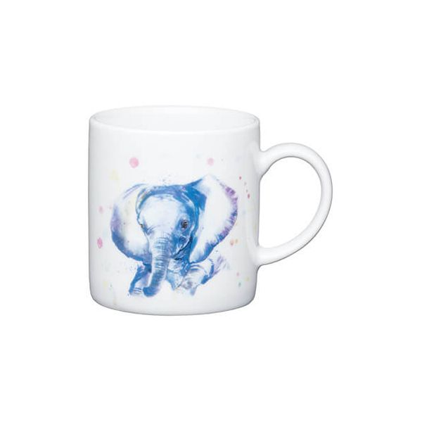 Kitchen Craft Elephant Porcelain Espresso Mug
