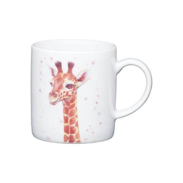 Kitchen Craft Giraffe Porcelain Espresso Mug