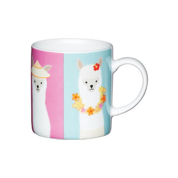 Kitchen Craft Llama Porcelain Espresso Mug