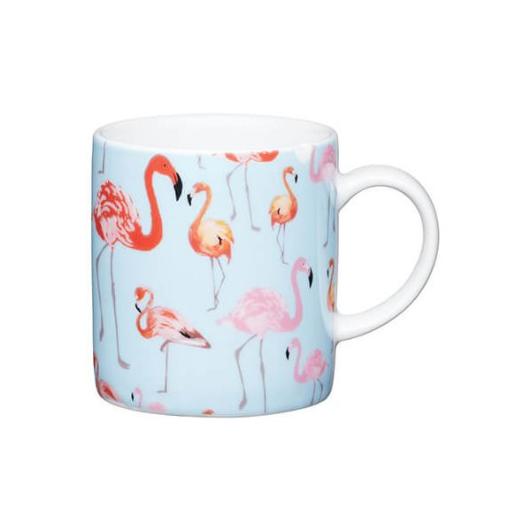 Kitchen Craft Flamingo Porcelain Espresso Mug