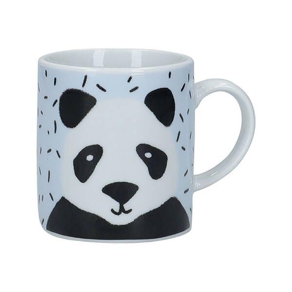 KitchenCraft Panda Porcelain Espresso Cup