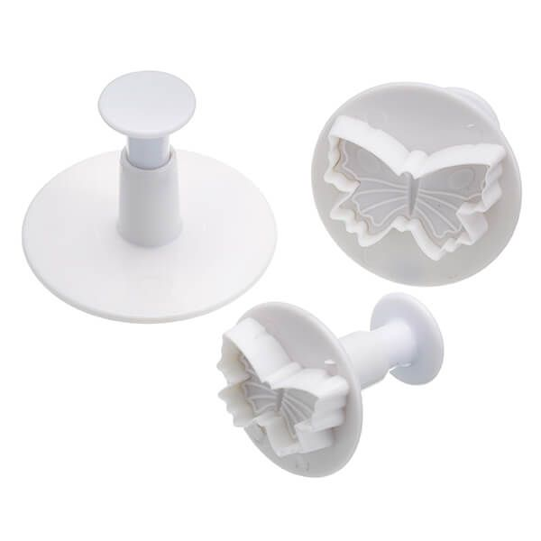 Sweetly Does It Set of Three Butterfly Fondant Plunger Cutters