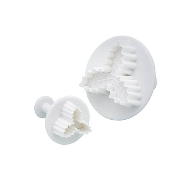 Sweetly Does It Set of Two Holly Fondant Plunger Cutters