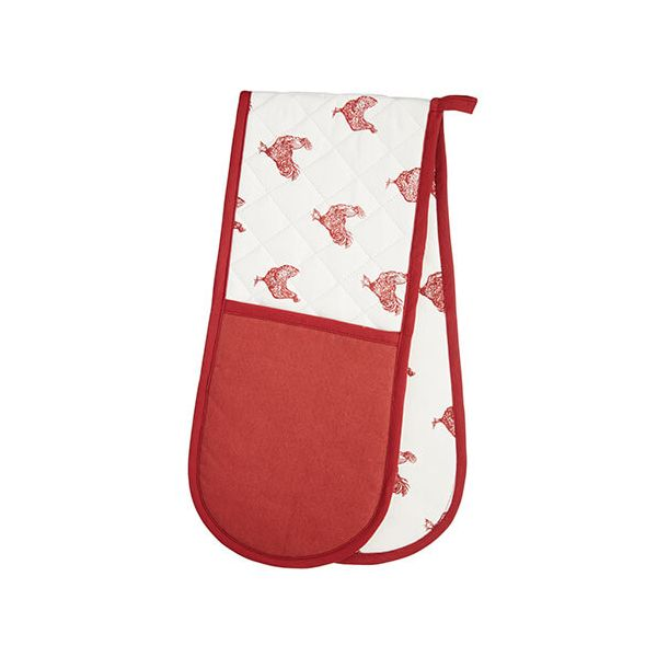 KitchenCraft Hen Double Oven Glove