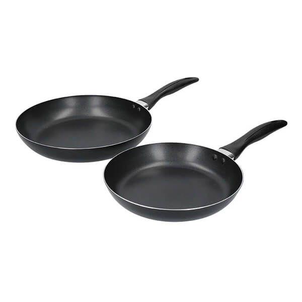 KitchenCraft Non-Stick Frypan Set of 2, 24cm & 28cm
