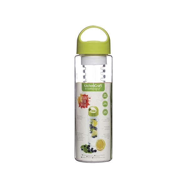 KitchenCraft Healthy Eating Fruit Infusing Water Bottle