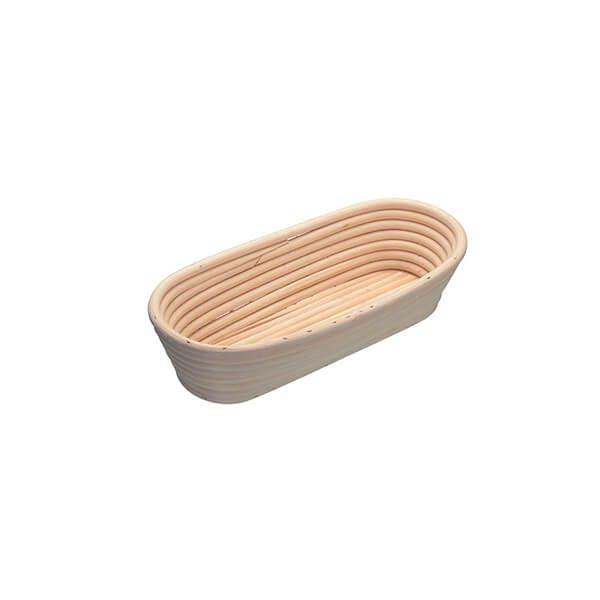 KitchenCraft Oval Loaf Proving Basket, 27 x 13 x 6cm