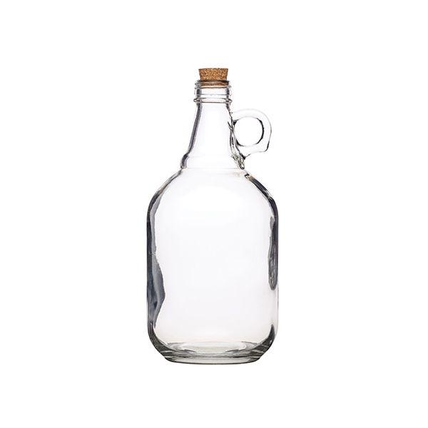 Home Made 1900ml Glass Demi John
