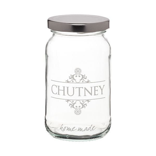 Home Made Traditional Glass Chutney Jar