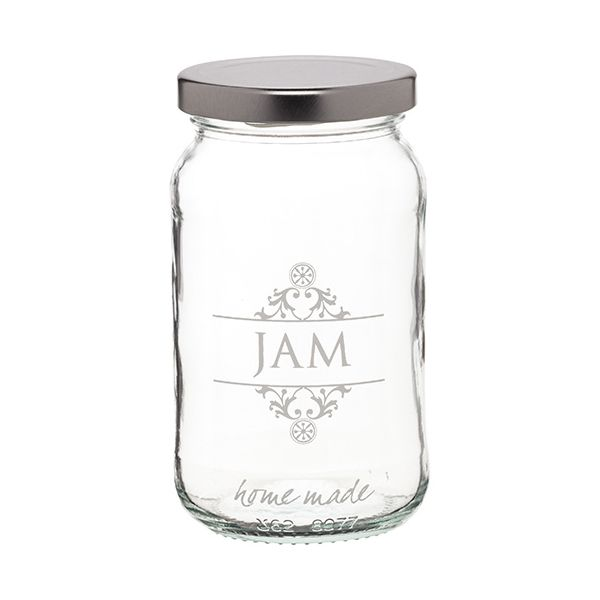 Home Made Traditional Glass Jam Jar
