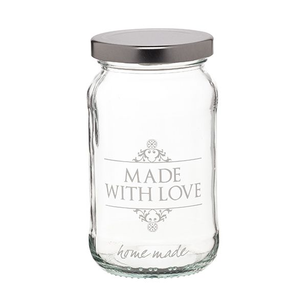 Home Made Made With Love Jar