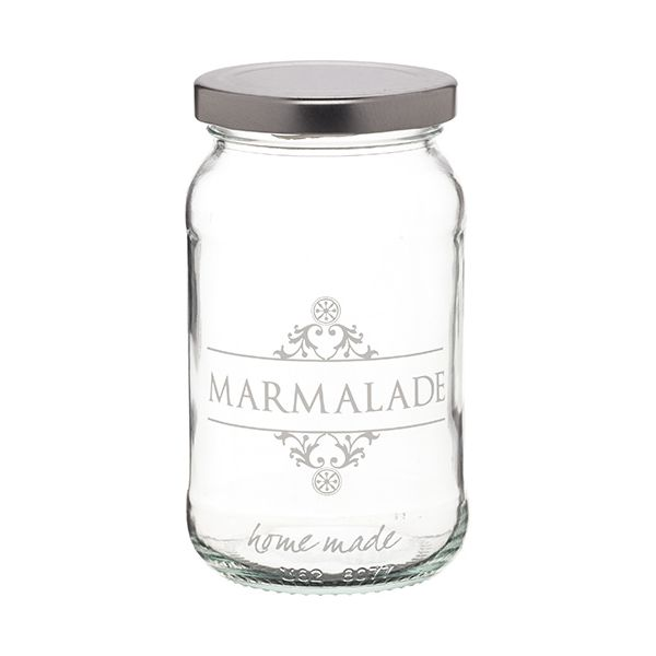 Home Made Traditional Glass Marmalade Jar