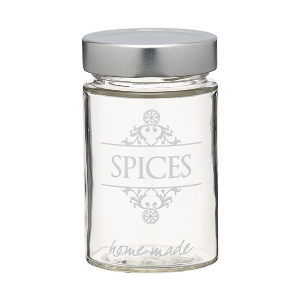 Home Made Glass Spice Jar