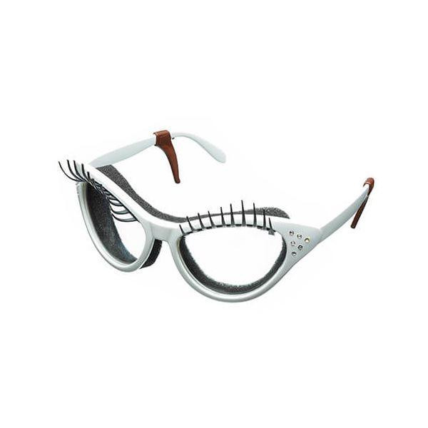 Fred White Kitchen Diva Eyelash Onion Glasses