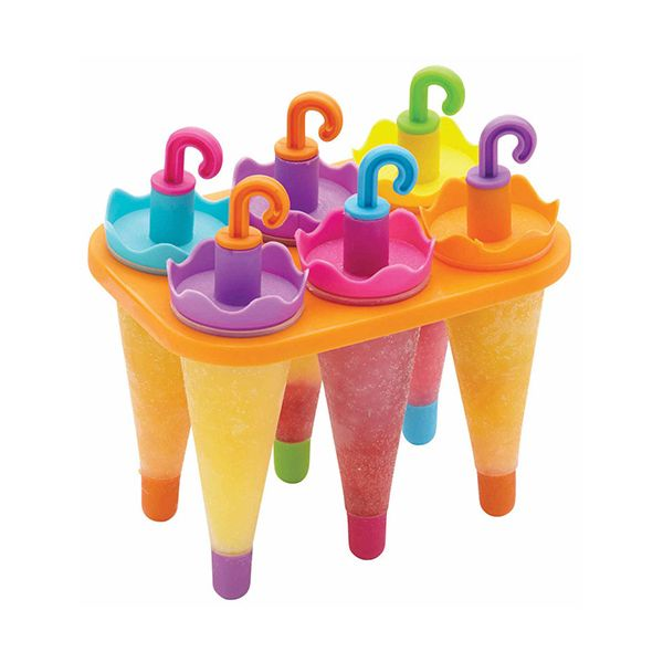KitchenCraft Set Of 6 Umbrella Ice Lolly Mould