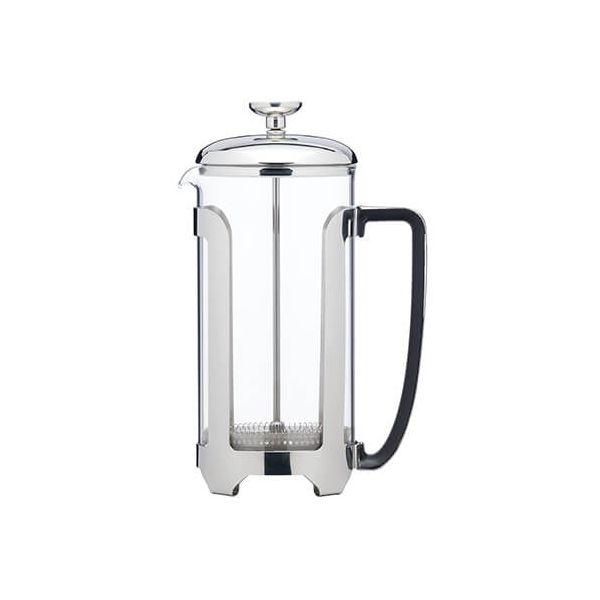 Le Xpress 8 Cup Stainless Steel Cafetiere