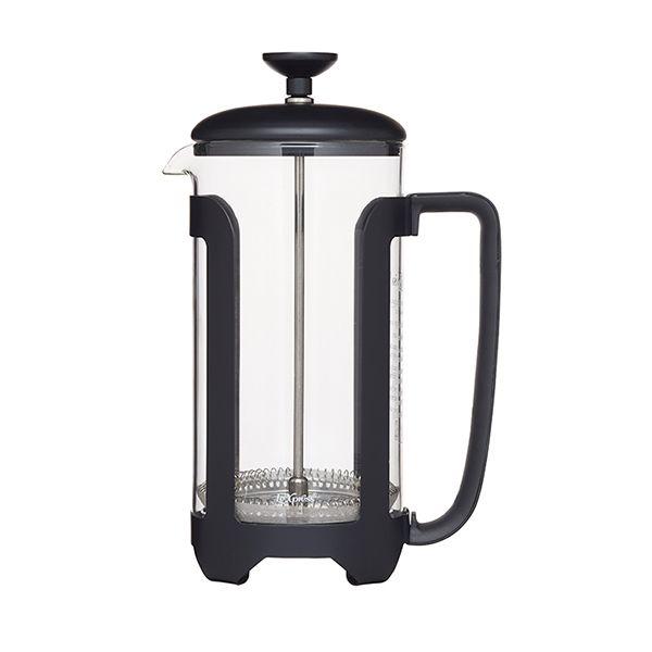 Le Xpress Matt Black 8 Cup Cafetiere