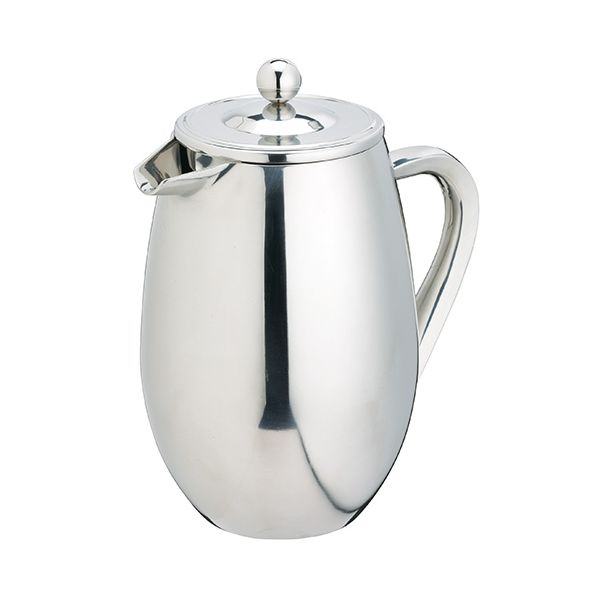 Kitchen Craft Le Xpress 8 Cup Double Walled Stainless Steel Cafetiere