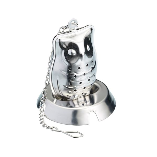 Le Xpress Stainless Steel Owl Tea Infuser