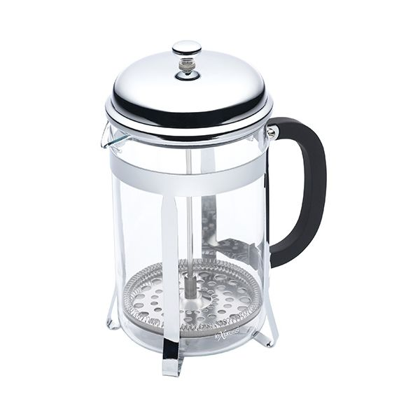 Kitchen Craft Le Xpress 12 Cup Chrome Plated Cafetiere
