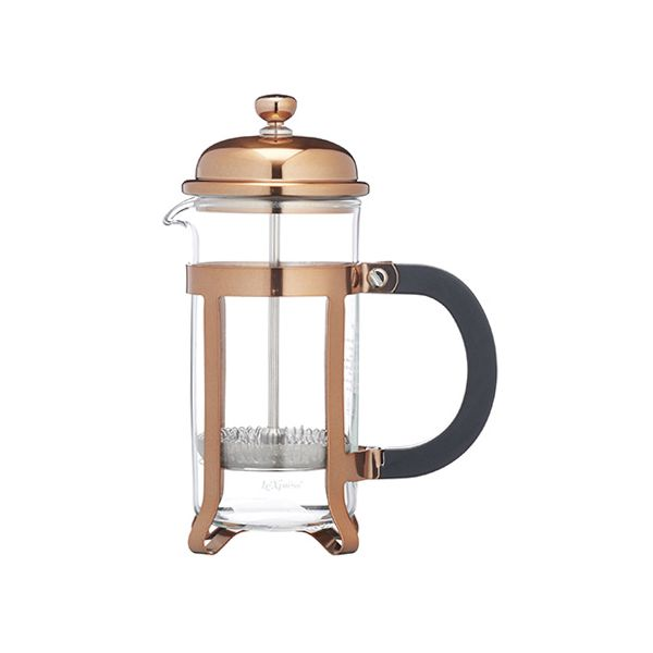Kitchen Craft Le Xpress 3 Cup Copper Finish Cafetiere