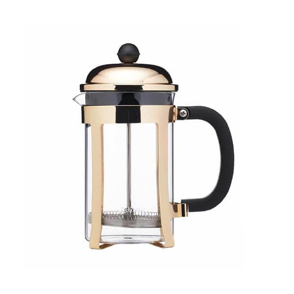 Le Xpress Brushed Brass 800ml Cafetiere