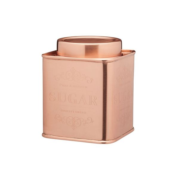 Le Xpress Copper Sugar Storage Tin