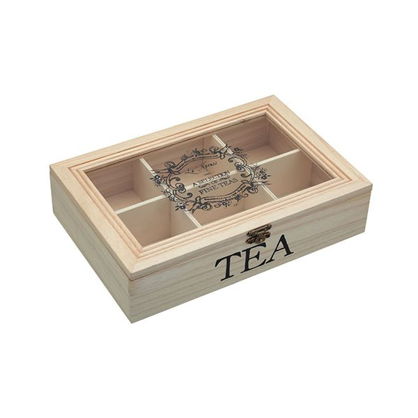 Le Xpress Wooden Tea Box