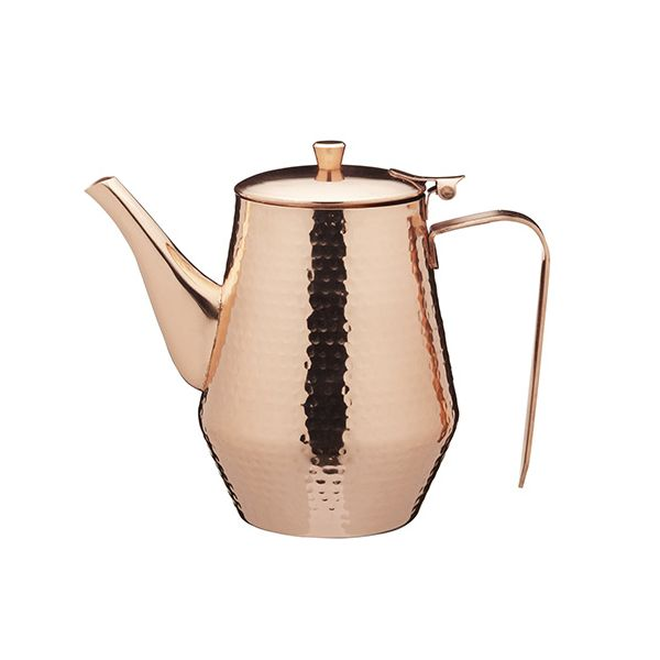 Le Xpress Hammered Copper Finish Teapot