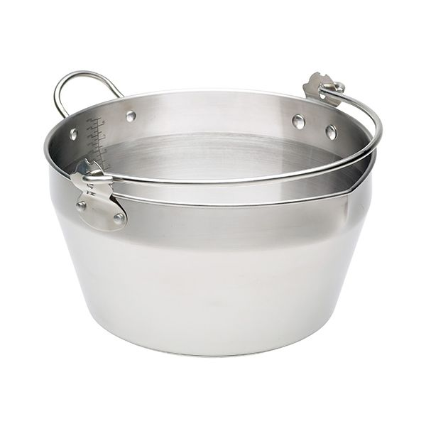 Kitchen Craft Stainless Steel Maslin Pan