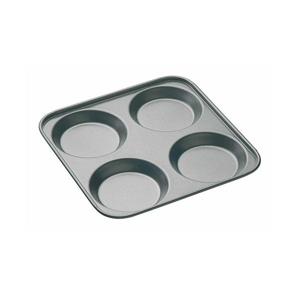 Master Class Non-Stick Four Hole Yorkshire Pudding Pan 24cm