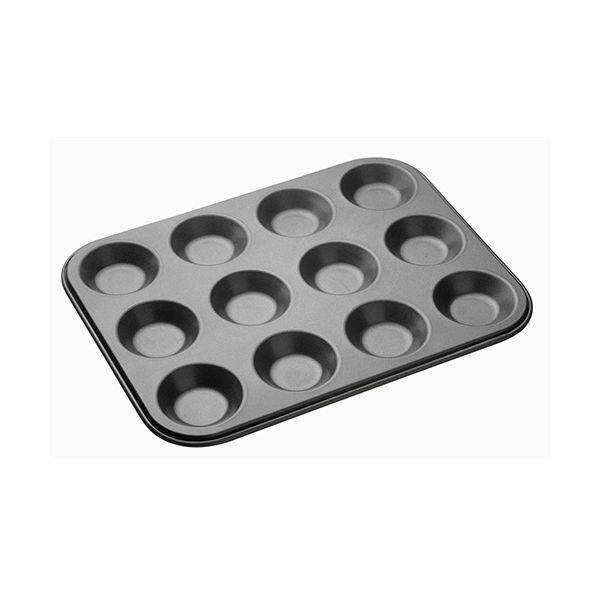 Master Class Non-Stick Twelve Hole Shallow Baking Pan 32 x 24cm