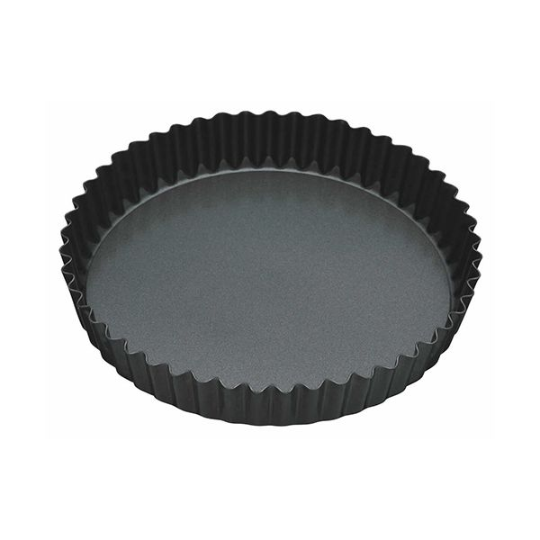 "Master Class Non-Stick Fluted Loose Base Quiche Tin Round 30cm (12"")"
