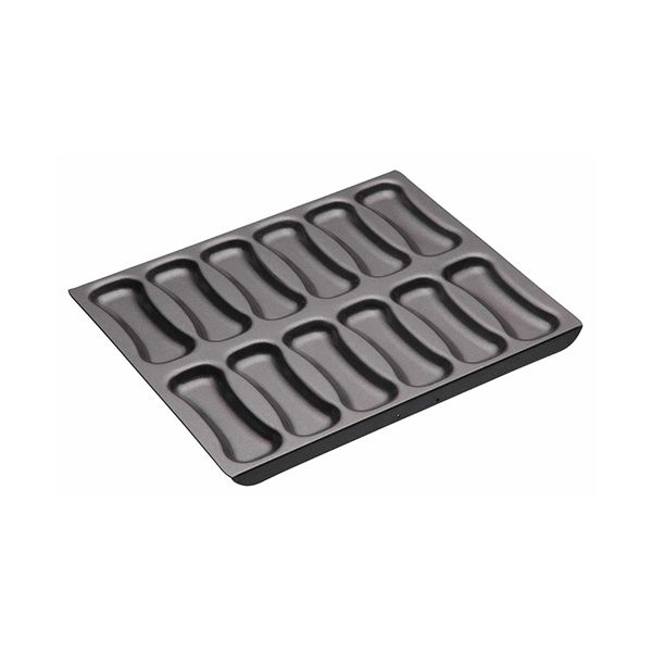 Master Class Non-Stick Twelve Hole Éclair Baking Pan 31 x 25.5 x 2.5cm