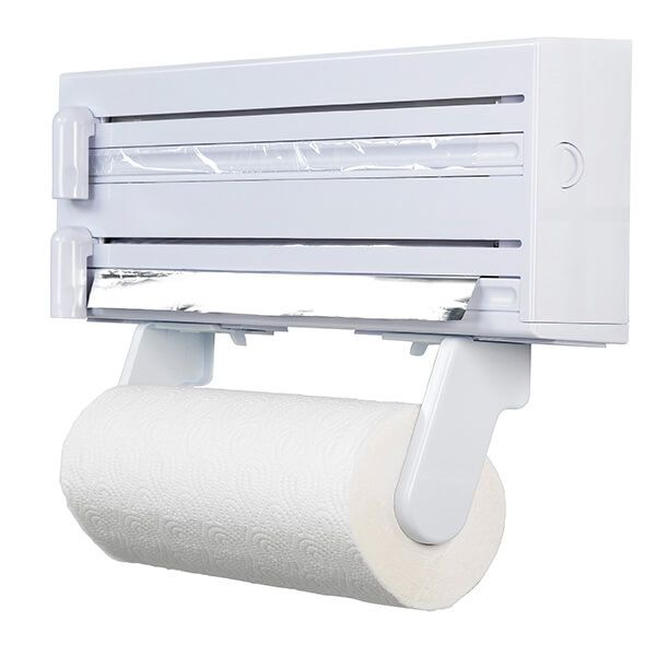 KitchenCraft Cling Film Foil and Kitchen Towel Dispenser