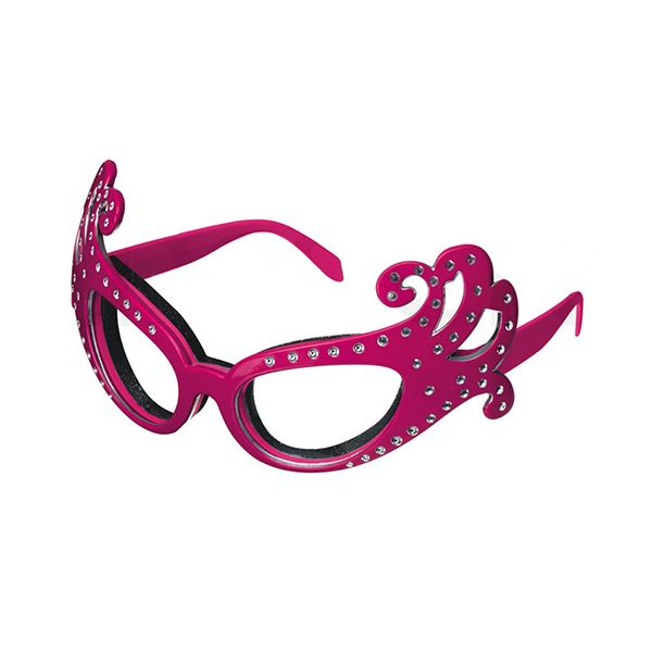 Kitsch'n'fun Dame Edna Onion Glasses Pink
