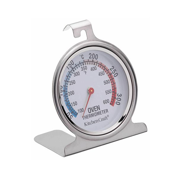 KitchenCraft Stainless Steel Oven Thermometer 7.5cm