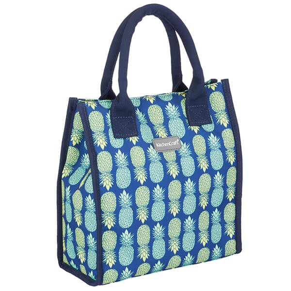 KitchenCraft 4L Pineapple Lunch And Snack Cool Bag
