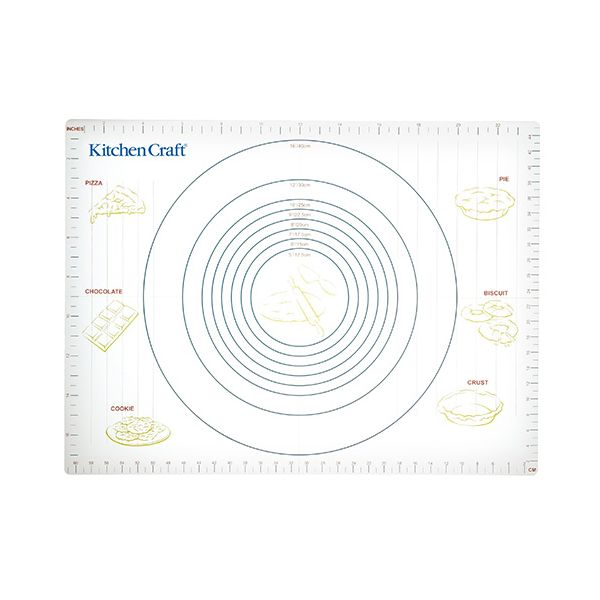 KitchenCraft Non-Stick 43cm x 61cm Pastry Mat